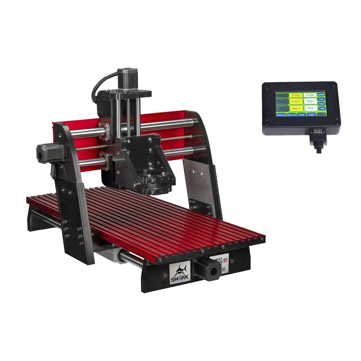 View a Larger Image of SHARK HD400 CNC Machine