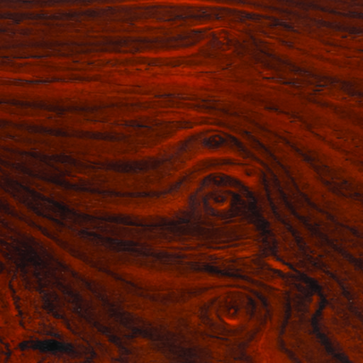 """View a Larger Image of Cocobolo 2"""" x 2"""" x 6"""" Wood Turning Stock"""