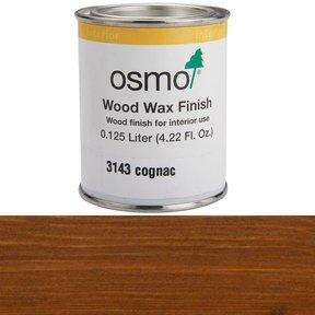 Cognac Wood Wax 3143Solvent Based .125 l