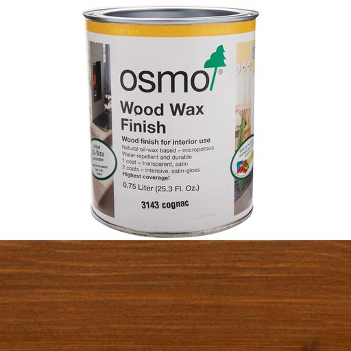 View a Larger Image of Cognac Wood Wax 3143Solvent Based .75 l