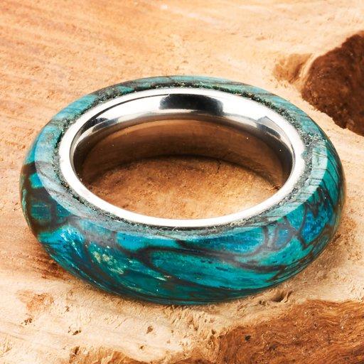 View a Larger Image of Comfort Ring Core - 64AL-4V Titanium - 4mm, Size 11
