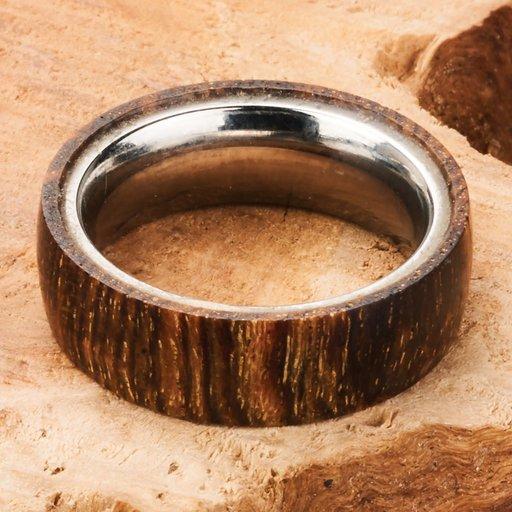 View a Larger Image of Comfort Ring Core - 64AL-4V Titanium - 6 mm - Size 10