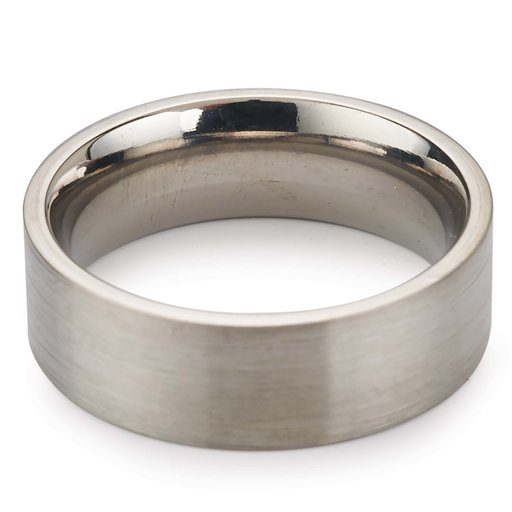 View a Larger Image of Comfort Ring Core - 64AL-4V Titanium - 6mm, Size 12