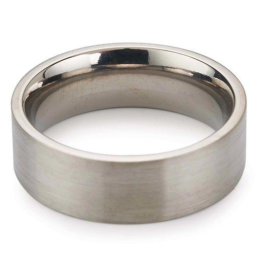View a Larger Image of Comfort Ring Core - 64AL - 4V Titanium - 6mm, Size 14