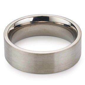 Comfort Ring Core - 64AL - 4V Titanium - 6mm, Size 14