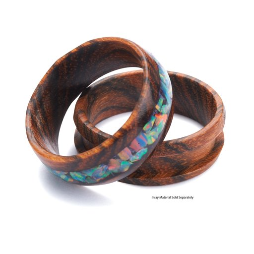 View a Larger Image of Comfort Ring Core - Bocote - 8mm, Size 12