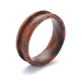 Comfort Ring Core - Bocote - 8mm, Size 13.5