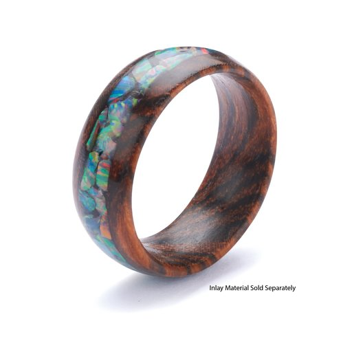 View a Larger Image of Comfort Ring Core - Bocote - 8mm, Size 13