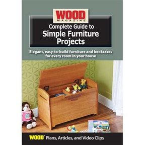 Complete Guide to Simple Furniture Projects DVD