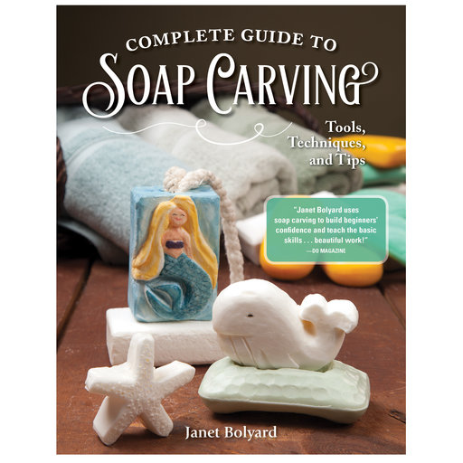 View a Larger Image of Complete Guide to Soap Carving
