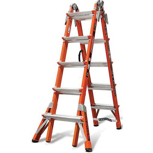 View a Larger Image of Conquest Model 22 Extension Ladder with V-Rung