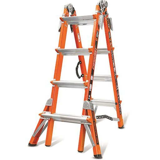 View a Larger Image of Conquest Mode 17 Extension Ladder with V-Rung