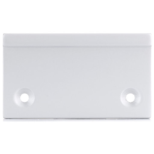 """View a Larger Image of Contemporary Edge Pull, 1-31/32"""" Center-to-Center, Aluminum"""
