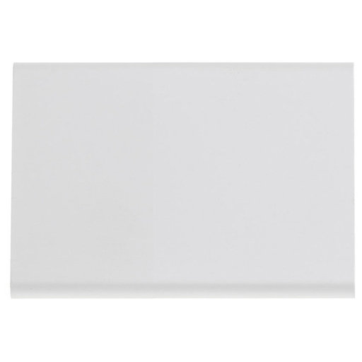 """View a Larger Image of Contemporary Edge Pull, 1-5/16"""" Center-to-Center, White"""