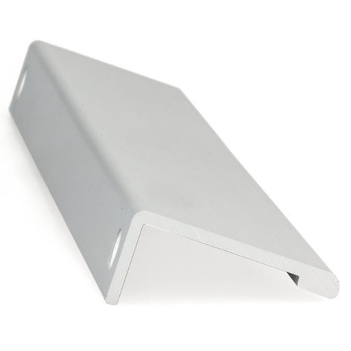 """View a Larger Image of Contemporary Edge Pull, 16-3/8"""" Center-to-Center, Aluminum"""
