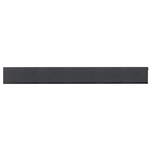 """View a Larger Image of Contemporary Edge Pull, 16-3/8"""" Center-to-Center, Brushed Black"""
