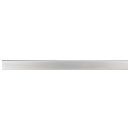 """View a Larger Image of Contemporary Edge Pull, 17"""" Center-to-Center, Stainless Steel"""