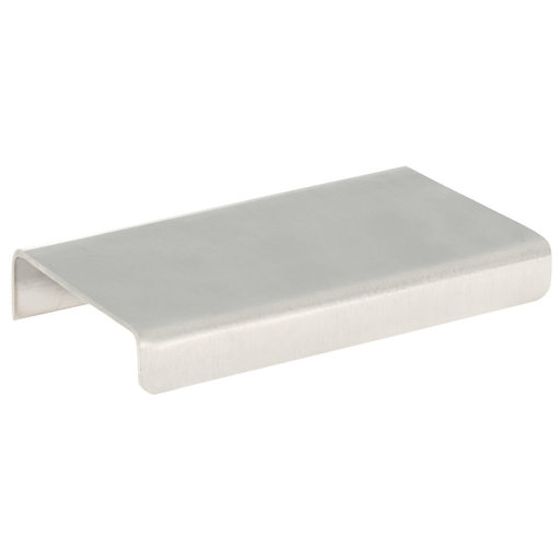 """View a Larger Image of Contemporary Edge Pull, 2"""" Center-to-Center, Brushed Nickel"""