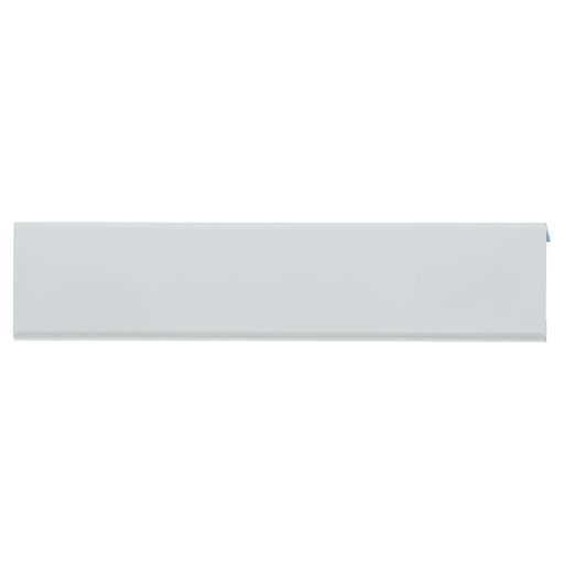 """View a Larger Image of Contemporary Edge Pull, 5-1/16"""" Center-to-Center, Aluminum"""