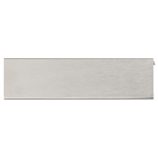 """View a Larger Image of Contemporary Edge Pull, 5-1/16"""" Center-to-Center, Stainless Steel"""