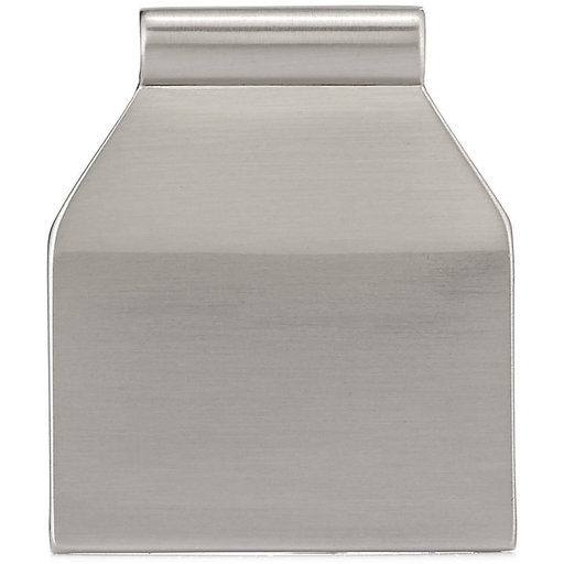"""View a Larger Image of Contemporary Edge Pull, 5/8"""" Center-to-Center, Brushed Nickel"""