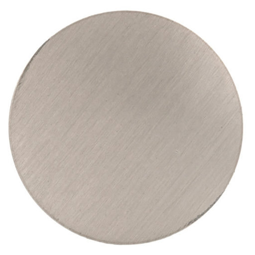 """View a Larger Image of Contemporary Knob, 1-1/4"""" D, Brushed Nickel"""