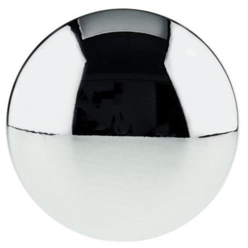 "View a Larger Image of Contemporary Knob, 1-11/32"" D, Chrome"