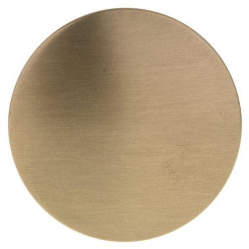 "View a Larger Image of Contemporary Knob, 1-11/32"" D, Honey Bronze"