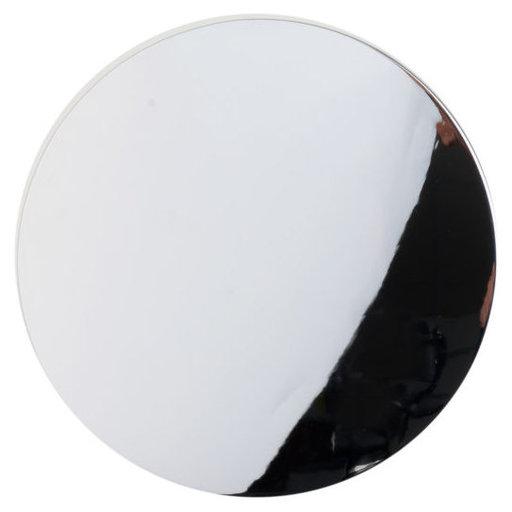 "View a Larger Image of Contemporary Knob, 1-23/32"" D, Chrome"