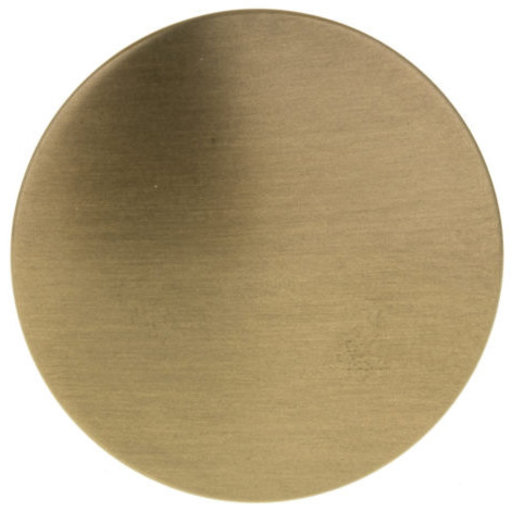 """View a Larger Image of Contemporary Knob, 1-3/16"""" D, Champagne Bronze"""