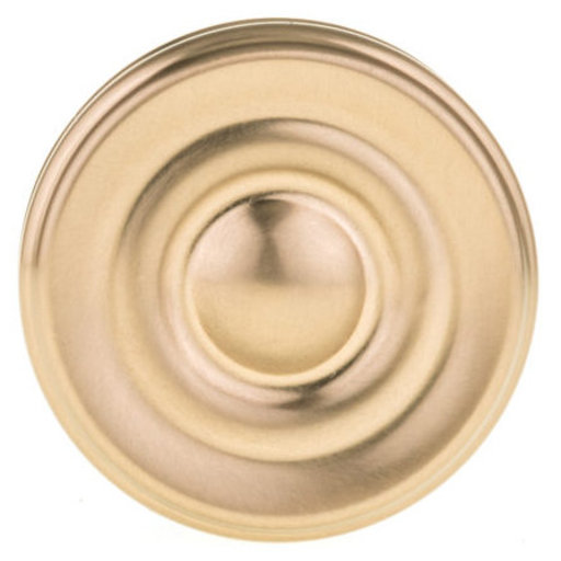 """View a Larger Image of Contemporary Knob, 1-3/8"""" D, Champagne Bronze"""