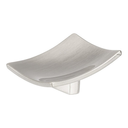 """View a Larger Image of Contemporary Knob, 1-31/32"""" x 1-31/32"""", Brushed Nickel"""