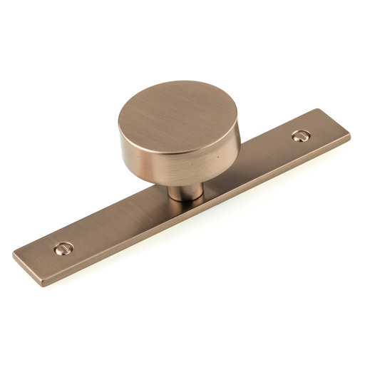 """View a Larger Image of Contemporary Knob, 1-9/16"""" D, Champagne Bronze"""