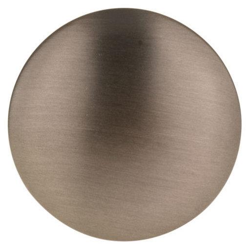 "View a Larger Image of Contemporary Knob, 1-9/16"" D, Honey Bronze"
