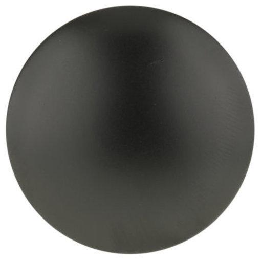"View a Larger Image of Contemporary Knob, 1-9/16"" D, Matte Black"