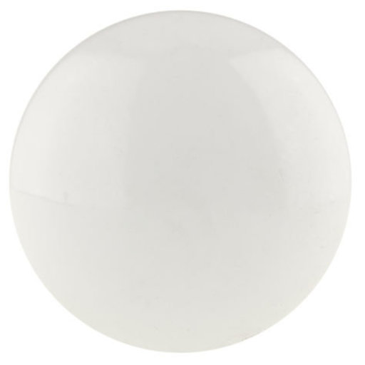 """View a Larger Image of Contemporary Knob, 1-9/16"""" D, White"""