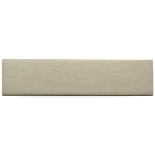 """View a Larger Image of Contemporary Knob, 2-3/4"""" x 21/32"""", Brushed Nickel"""