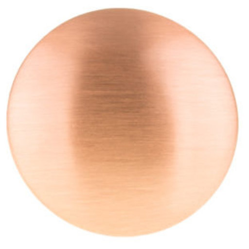 """View a Larger Image of Contemporary Knob, 31/32"""" D, Rose Gold"""
