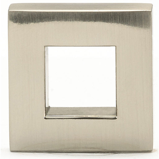 """View a Larger Image of Contemporary Knob, 31/32"""" x 5/16"""", Brushed Nickel"""