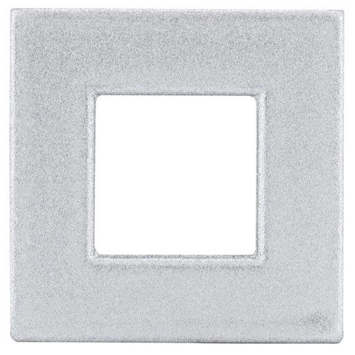"View a Larger Image of Contemporary Knob, 31/32"" x 5/16"", Matte Chrome"