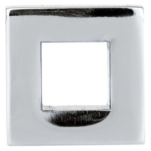 """View a Larger Image of Contemporary Knob, 31/32"""" x 5/16"""", Polished Nickel"""