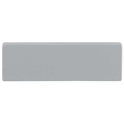 """View a Larger Image of Contemporary Pull, 1-1/4"""" Center-to-Center, Aluminum"""