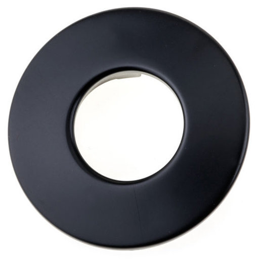 """View a Larger Image of Contemporary Pull, 1-1/4"""" Center-to-Center, Black"""