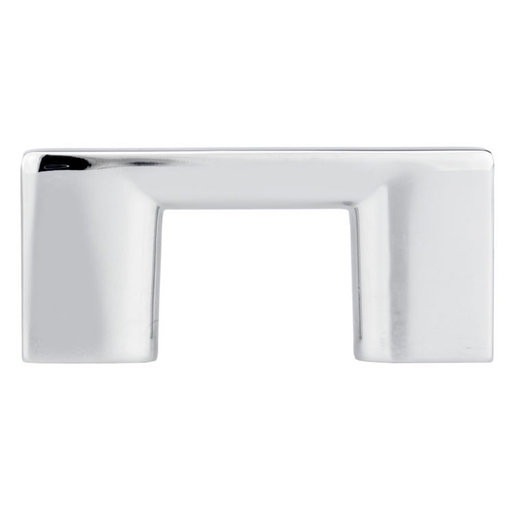 """View a Larger Image of Contemporary Pull, 1-1/4"""" Center-to-Center, Chrome"""