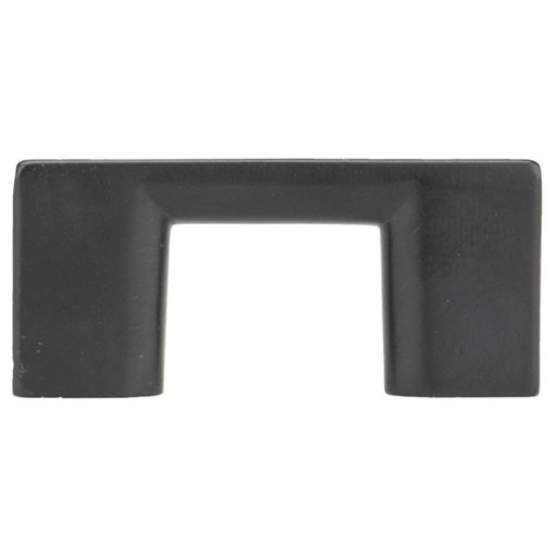 """View a Larger Image of Contemporary Pull, 1-1/4"""" Center-to-Center, Matte Black"""