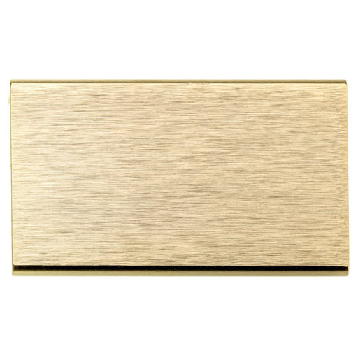 """View a Larger Image of Contemporary Pull, 1-31/32"""" Center-to-Center, Satin Gold"""
