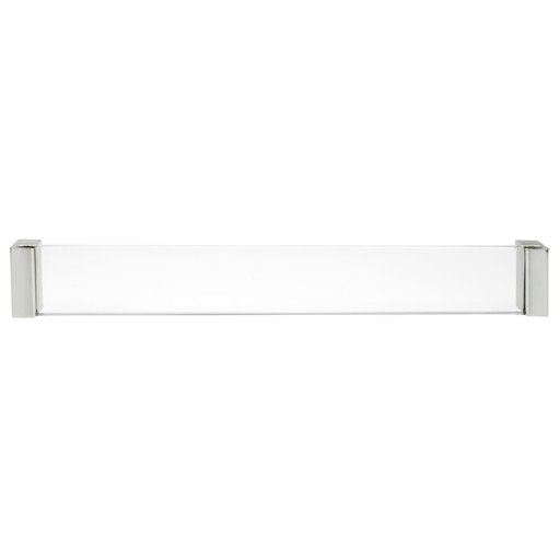 """View a Larger Image of Contemporary Pull, 10-1/8"""" Center-to-Center, Chrome"""