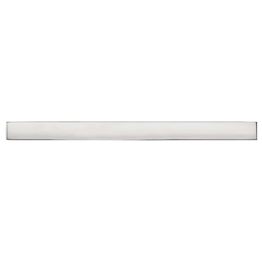 """View a Larger Image of Contemporary Pull, 10-1/8"""" Center-to-Center, Polished Stainless Steel"""