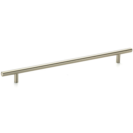 """View a Larger Image of Contemporary Pull, 11-3/4"""" Center-to-Center, Brushed Nickel"""