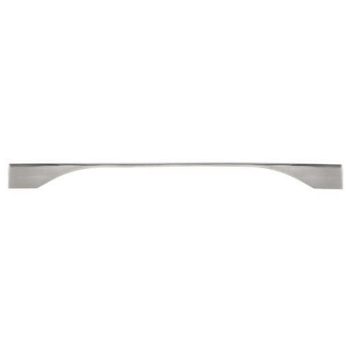 """View a Larger Image of Contemporary Pull, 11-3/8"""" to 12-5/8"""" Center-to-Center, Brushed Nickel"""